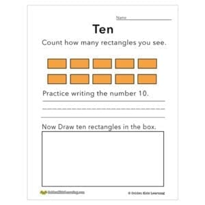 Numbers & shapes 10
