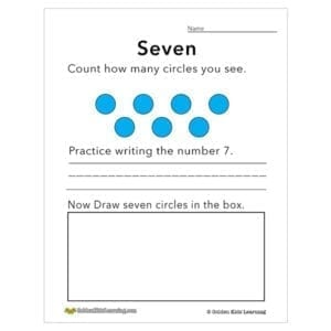 Numbers & shapes 7