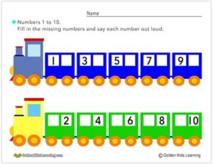 Number Train 1